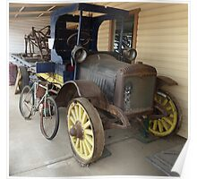 the age of transport at Gulgong Museum N.S.W. Poster