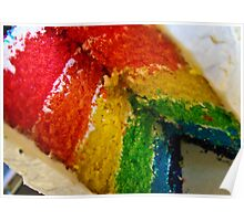 Rainbow Cake II Poster