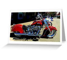 Indiana Motoring!..... Cool !!! Greeting Card