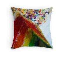 Sprinkles! Throw Pillow