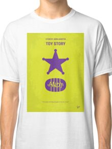 No190 My Toy Story minimal movie poster Classic T-Shirt