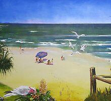 Memories of Coolum Beach by Almeta