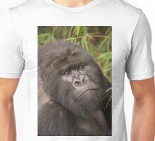 Close-up of silverback gorilla looking at camera Unisex T-Shirt