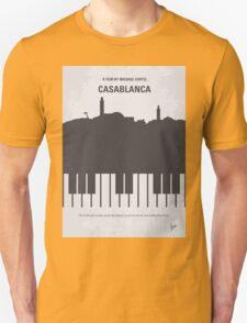 No192 My Casablanca minimal movie poster  Unisex T-Shirt