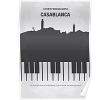 No192 My Casablanca minimal movie poster  Poster
