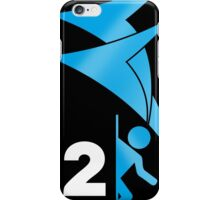 Portal 2 Logo Iphone Case iPhone Case/Skin