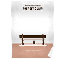 No193 My Forrest Gump minimal movie poster Poster