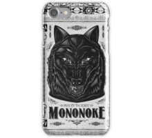 Princess Mononoke Black Wolf Iphone Case iPhone Case/Skin