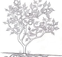 Tree of Life sketch by HeidiArts