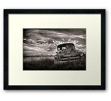 Roadworthy Required Framed Print