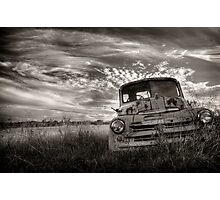 Roadworthy Required Photographic Print