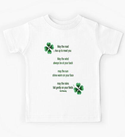 Irish Blessing Kids Tee