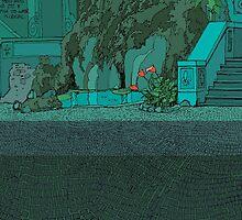 water feature by David  Kennett