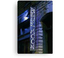 Blue Moon Saloon Canvas Print