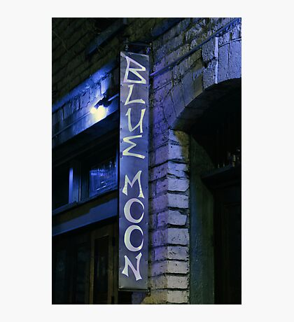 Blue Moon Saloon Photographic Print