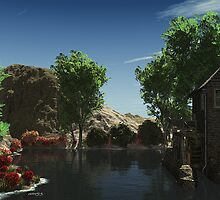 Down by the Watermill. by alaskaman53