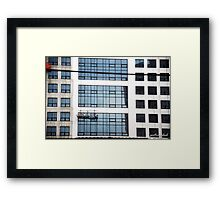 Mid air Framed Print