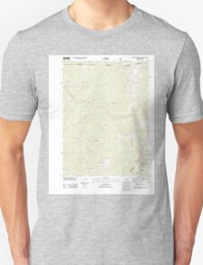 USGS Topo Map California Broken Rib Mountain 20120323 TM T-Shirt