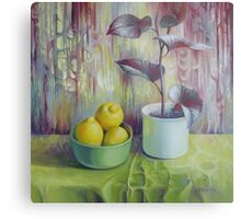 Still life with lemons Metal Print