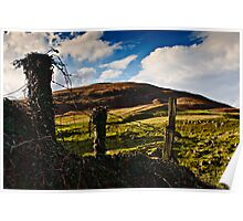 Humbleton Hill, Northumberland National Park. UK Poster