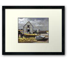 """Dark Skies Over Pembroke"" Framed Print"