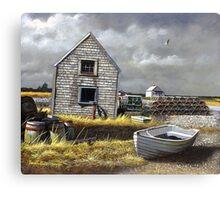 """""""Dark Skies Over Pembroke"""" Canvas Print"""