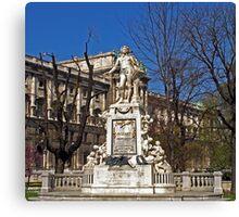 Mozart Memorial - Monument Canvas Print