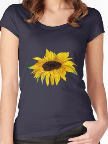 Rosie Sunshine Tee Shirt Women's Fitted Scoop T-Shirt