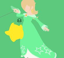 Rosalina & Luma (Green) - Super Smash Bros. by samaran