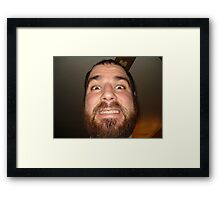 Going F!%ken Crazy Framed Print