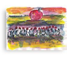 HOLLY BUBBLE(C2007) Canvas Print