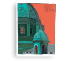 St Peters red and green Metal Print
