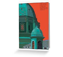 St Peters red and green Greeting Card