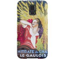 Leonetto Cappiello Affiche Nitrate Le Gaulois Samsung Galaxy Case/Skin