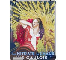 Leonetto Cappiello Affiche Nitrate Le Gaulois iPad Case/Skin