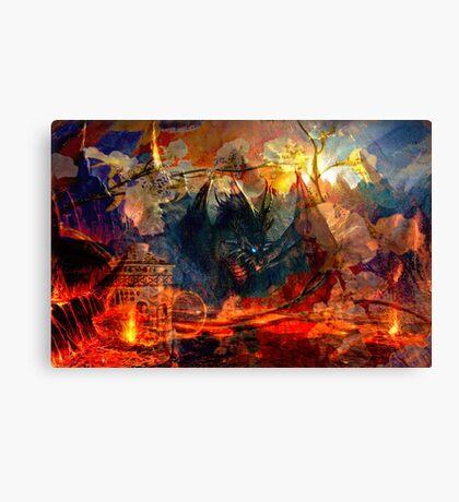 Tea For The Dragon Canvas Print