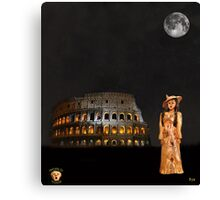 Rome Fashion Canvas Print