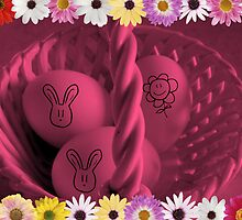 Jazzy Easter Basket by Debbie Meyers