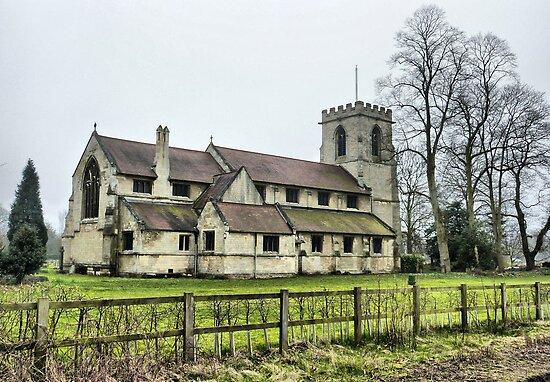 St Andrews Church. Bishopthorpe  by Lilian Marshall