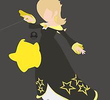 Rosalina & Luma (Black/Yellow) - Super Smash Bros. by samaran