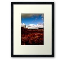 Landscape on Wicklow Mountains Framed Print