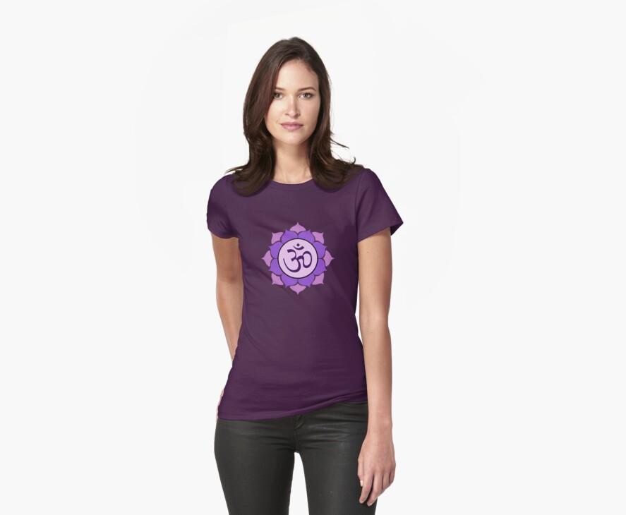 Lotus Petal Mandala Om Shirt by shantitees