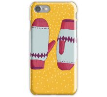Christmas Mitts iPhone Case/Skin