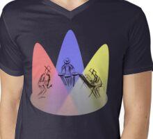 Jazz on stage Mens V-Neck T-Shirt