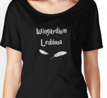 Wingaydium Lesbiosa Women's Relaxed Fit T-Shirt