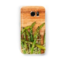 Grilled asparagus and parmesan cheese. Samsung Galaxy Case/Skin