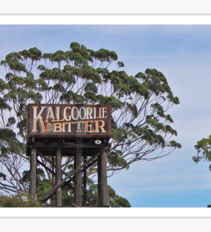 Kalgoorlie Bitter Sticker