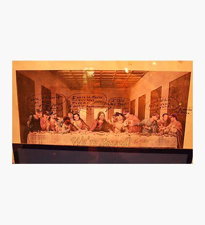 Last Sox Supper Photographic Print