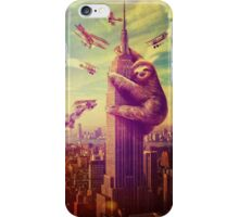 Sloth Kong iPhone Case/Skin