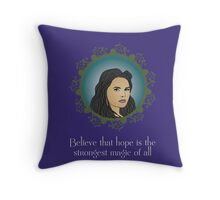 OUAT - Believe In Hope Throw Pillow